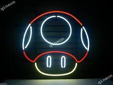17X14 Nintendo Mario Mushroom Handcraft Real Neon Sign Beer Bar Light FAST SHIP