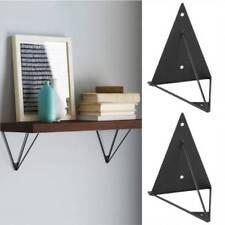 2pcs Wall  Shelf Brackets Hairpin Mount Support Metal Scaffold Board Bookcases