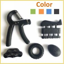 5 Pieces Adjustable Hand Grip Trainer Set Heavy Grips Fingers Exerciser Ball