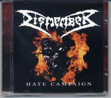 DISMEMBER Hate Campaign CD (Death Metal) +2 Bonus Tracks