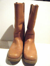 TEXAS STEER BOOTS - CAMEL BROWN - SIZE 12 - GREAT CONDITION