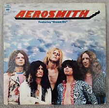"AEROSMITH 1973 S/T 12"" Vinyl 33 LP (32005) BLUES ROCK Columbia Dream On Mama Kin"