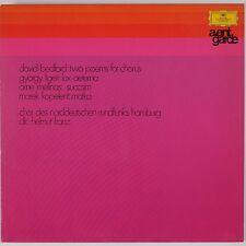 BEDFORD, LIGETI, MELINAS, KAPELENT: Modern Music AVANT GARDE DGG LP Orig