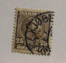 Denmark Scott #67  Θ used, stamp, fine + 102 card