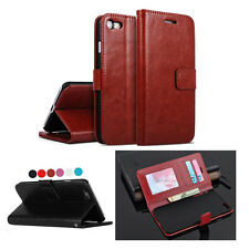 For iPhone Leather Luxury Case Wallet Card Flip Stand X 8 8 Plus 7 6/6S Plus 5S