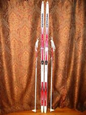 NEW - CROSS COUNTRY SKIS w Poles & Bindings -GERMINA TR200 - SIZE 195