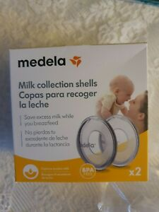 Medela Breast Milk Collection Shells Used once!
