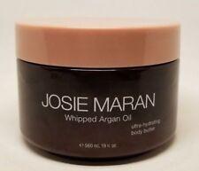 JOSIE MARAN WHIPPED ARGAN OIL BODY BUTTER UNSCENTED LIGHT BRONZE 19 OZ UNSEALED!