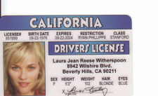 Reese Witherspoon June Carter Cash WALK THE LINE Legally Blonde drivers license