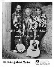 "Kingston Trio 10"" x 8"" Photograph no 1"