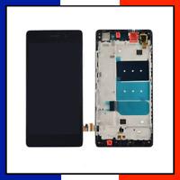 ÉCRAN LCD COMPLET AVEC CHASSIS Huawei P8 Lite ALE-L04 Noir