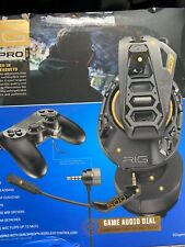 Plantronics - RIG 500 PRO HS Wired Gaming Headset For Ps4 - Black New Sealed