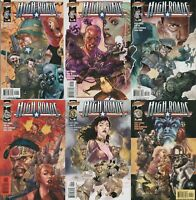 High Roads SET #1-6 NM 2002 Wildstorm Comic Book