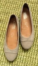 JENNY BY ARA | Bequeme Ballerinas | Halbschuhe | Pumps, Größe 37,5, beige, taupe