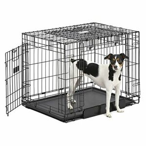MidWest Homes for Pets Ovation Double Door Dog Crate 30-Inch