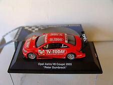 Schuco 1/43 Opel Astra V8 Coupe #19 DTM 2003 Peter Dumbreck