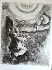 Marc Chagall offset lithograph Bible plate signed paris maeght 1960 original 9