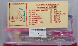 Hawan  Box - Navgrah Pooja / hindu / Religiuos