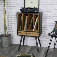Classique Rétro Vintage disque vinyle stockage classement Armoire rustique chic