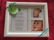 The Grandparent Gift Co. Photo Frame First Birthday Keepsake Baby Boy New