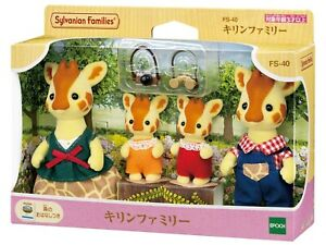 Sylvanian Families GIRAFFE FAMILY Calico Critters FS-40 Japan New
