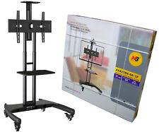Standfuß mobil fahrbar TV Ständer Trolley 32-65 Zoll Kamera/AV-Ablagen AVA1500B