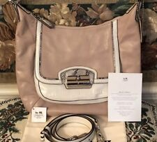 COACH 19310 Pink Shell Legacy Speciality Leather iPad Holder Purse Authentic NWT