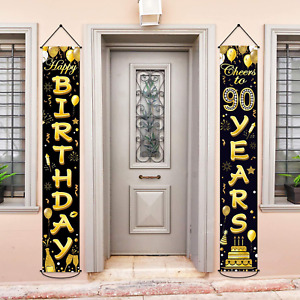 90th Birthday Party Banner Decorations Cheers to 30 Years Banner 30th Party Supp