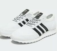 Adidas Originals Los Angeles  White/Black  U.K. Size 8 Trainers