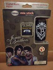 NIB Disney Mix Stick Jonas Brothers 1-3GB Digital Music Player MP3 SD Card SLOT