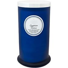 Shearer Candles Scented Pillar Jar Candle, Egyptian Cotton - 100 Hours Burn Time