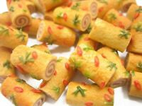 10 Hot Dogs Bakery Bread Dollhouse Miniatures Food Supply 3599