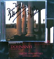 Dmitry SITKOVETSKY Signed DOHNANYI Serenade C-dur BRAHMS Sextet No.2 CD Nonesuch