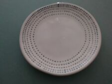 "RARE/HTF Hearth & Hand/Magnolia 4"" Bread Plate-Teal Blue Stitch Pattern Sold Out"