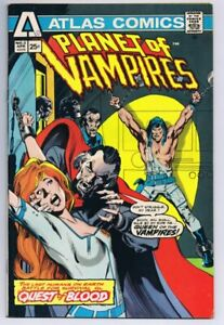 Planet of Vampires #2 ORIGINAL Vintage 1975 Atlas Comics