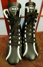 DBX Double Blade Black/White Trim Ice Skates Boys Size 12 ~ Never Worn