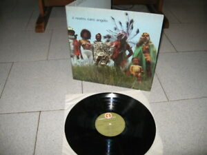 LP LUCIO BATTISTI IL NOSTRO CARO ANGELO /NUMERO 1 DZSLN 55660/1973 ITA 1° ST LAM