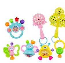 7 tlg/Set Baby Fun Rassel Beißring Spielzeug Kleinkindspielzeug NeugeborenenNeu