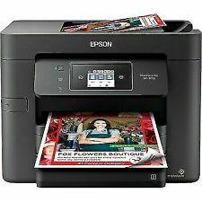 NEW Epson WorkForce Pro WF-3730 Wireless All-In-One Inkjet Printer Black WF3730
