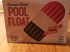 Wembley Frozen Treat Red White Blue 6 FT Pool Beach Inflatable Float Raft $40