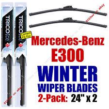WINTER Wipers 2-Pack Premium Grade - fit 2012-2016 Mercedes-Benz E300 - 35240x2