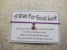 A Good Luck Wish * Wish Bracelet * Star Charm * Friendship * Gift * Favour