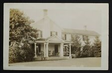 Ayr Ontario Historic house at 74 Piper St RPPC postmarked same 1911 Waterloo Co