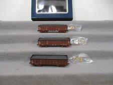 Electrotren H0 6509K Güterwagen-Set 3-teilig Hochbordwagen RENFE in OVP