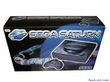 # SEGA SATURN CONSOLE // COMPLETO IN SCATOLA ORIGINALE // come Nuovo-Mint #