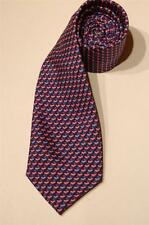 JOSEPH A BANK EXECUTIVE COLL (893), SILK NECKTIE, NAVY BLUE W/ WHALE TAILS, NWT