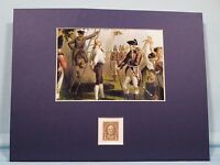 The Execution of Nathan Hale honored by his own stamp