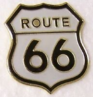 Hat Lapel Pin Push Tie Tac Route 66 - The Mother Road NEW shield