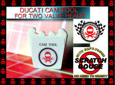 DUCATI CAM BELT TIMING TOOL 2 VALVE SINGLE CAM HEAD 18 TOOTH FREE INSTRUCTIONS