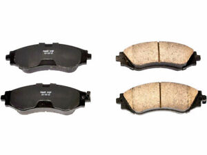 Front Power Stop Brake Pad Set fits Pontiac G3 2009-2010 84NDFB